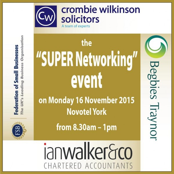 Super networking event